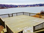 Large Dock without snow