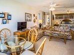 Kona Mansions #C305 - Living room and bedroom