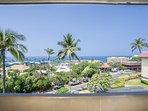 Kona Mansions #C305 - Ocean View From Lanai
