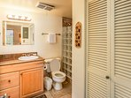 Kona Mansions #C305 - Full bathroom with shower
