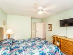 Keauhou Punahele #B202 - Guest Bedroom with TV