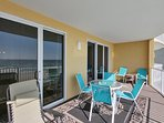 Twin Palms 404-Large Private Balcony with additional seating