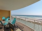 Twin Palms 404-Large Private Balcony with Seating