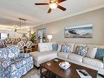 Twin Palms 404-Living Area