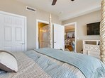 Twin Palms 404-Master Bedroom with TV
