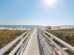 Twin Palms 404-Walkway to Private Beach Access