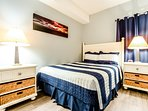 Twin Palms 2104-2nd Bedroom with 1 Queen and 1 Full Bed