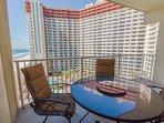 Shores of Panama 1028-Private Balcony