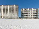 Summer House condominiums from the beach