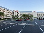 Parking lot for Grande Caribbean community