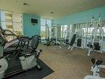 Weight training and cardio machines