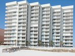 Shoalwater Condominiums from the beach