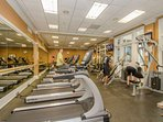 Fitness room available with purchase of Clubhouse membership