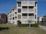 The Village Condominiums from the front
