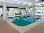Alternate view indoor pool and hot tub