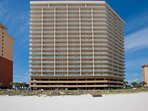 Seawind Condominiums from the beach