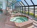 Community indoor hot tubs