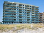 Silver Beach Condominiums from the beach