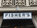 Fisher's seafood restaurant - 8.5 miles away