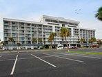 Gulf Shores Surf & Racquet parking lot