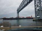 Train Bridge on Canal 2 miles away