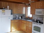 The fully equipped kitchen at Ragged Island Retreat