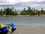 A kayaking paradise at Ragged Island Retreat