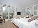 Master bedroom with seaviews