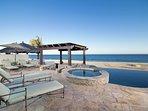 Amazing beachfront views!