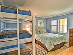 The second bedroom is great for small families or children!