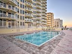 Cool off in the sparkling community pool.