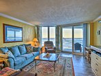 Escape the sun in this light and breezy fully furnished condo.