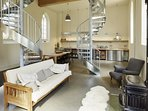 THE CHAPEL, exceptionally stylish converted chapel in quiet Dorset village.