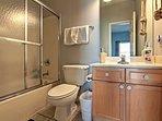 Enjoy a freshwater rinse in this 3rd full bathroom.