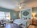 This unit boasts 2 luxurious king master suites.