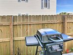 You'll have access to a private gas grill for hosting summertime barbecues.