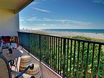 Incredible gulf views right from the balcony.