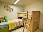 2nd guest room is a great place for kids to have a little down time.