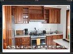 All modern high tech kitchen appliances