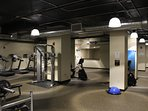 Guests will have access to the access to this spacious fitness area
