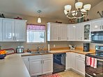 You'll have all the essential appliances and ample counter space.