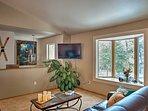 Charming decor provides that Montana retreat feel.