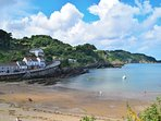 Short stroll to the beach and all Combe Martin amenities