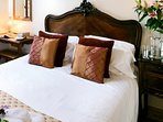 Double bedroom with antique bed
