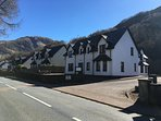 Nevis Croft from the road