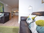 Stunning open plan Lounge/Kitchen/Dining room