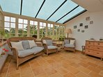 Unwind in the conservatory