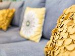Modern and colourful interior design