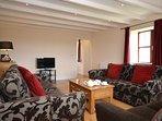 Lounge with original beams