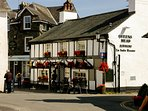 A choice of local pubs in Hawkshead